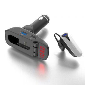 FM Bluetooth moduliatorius su laisvų rankų įranga_8