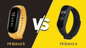 Xiaomi Mi Band išmaniųjų apyrankių skirtumai