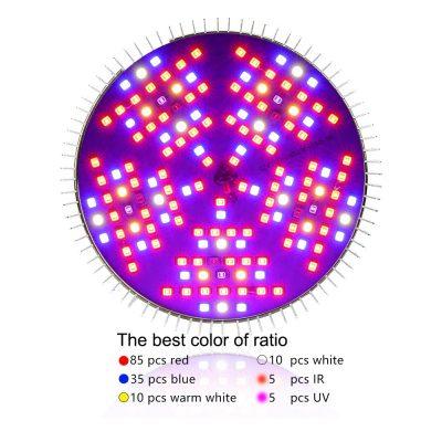 150 LED lemputė augalų auginimui 3 apšvietimo_1