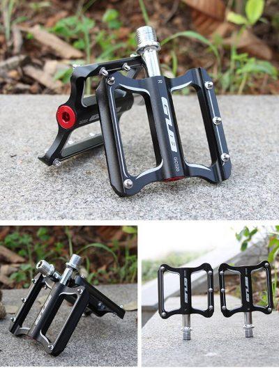 GUB GC020 dviračio pedalai aliuminiai 2vnt.