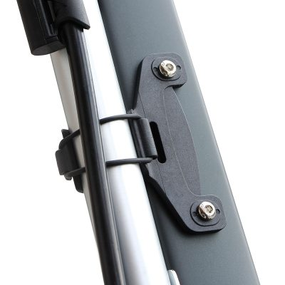 GUB P003 dviračio pompa su slėgio matuokliu tvirtinimas