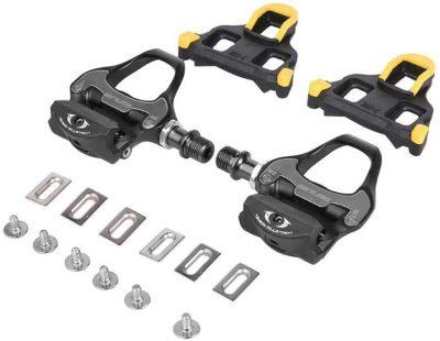 GUB RD2 pedalai plentiniam dviračiui komplektacija