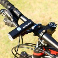 GUB 018 priekinis dviračio žibintas ant vairo
