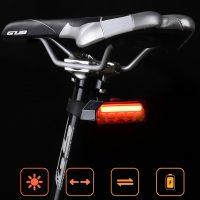 LED galinis dviračio žibintas GUB M-61 bevielis_galas