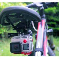 GoPro kameros laikiklis ant dviračio sėdynės Puluz_3
