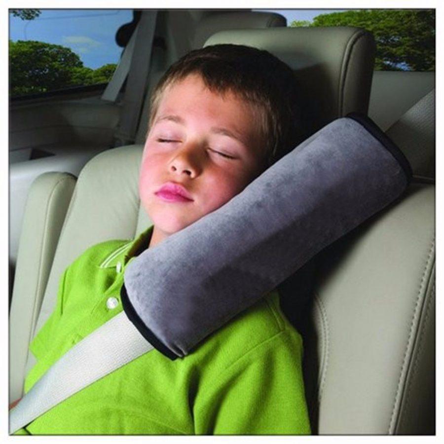 Vaikiška kelioninė pagalvėlė tvirtinama ant saugos diržo_1